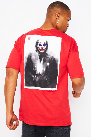 """T-shirt rouge """"Why so serious ?"""""""