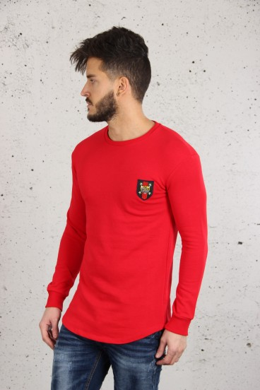 Pull Tigre Rouge