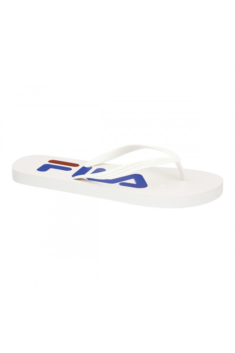Tongs blanches Troy Slipper FILA 1010288