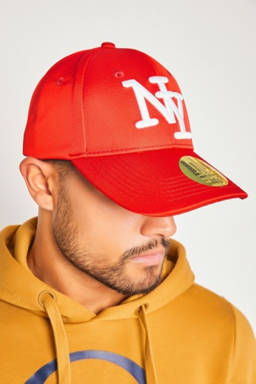 Casquette rouge NY