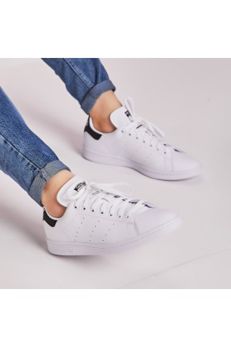 Baskets Stan Smith blanc/noir/ adidas