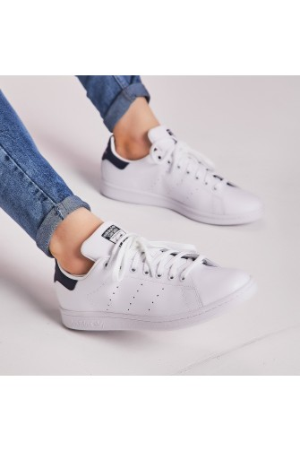 Baskets Stan Smith blanc/bleu / adidas