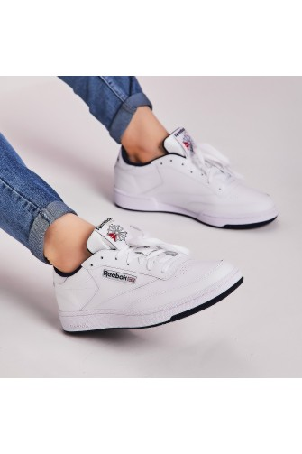 Baskets Club C 85 blanches / Reebok