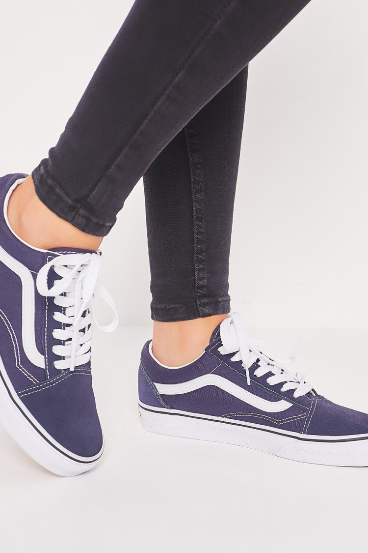 Baskets Old Skool bleu marine / Vans - Brentiny Paris