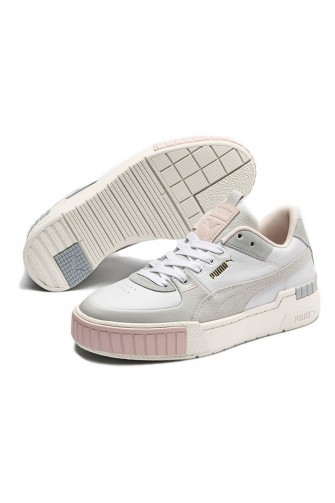 Baskets Cali sport Mix Wn's blanc/gris / Puma